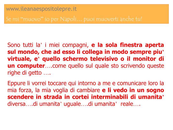 www.ileanaespositolepre.it