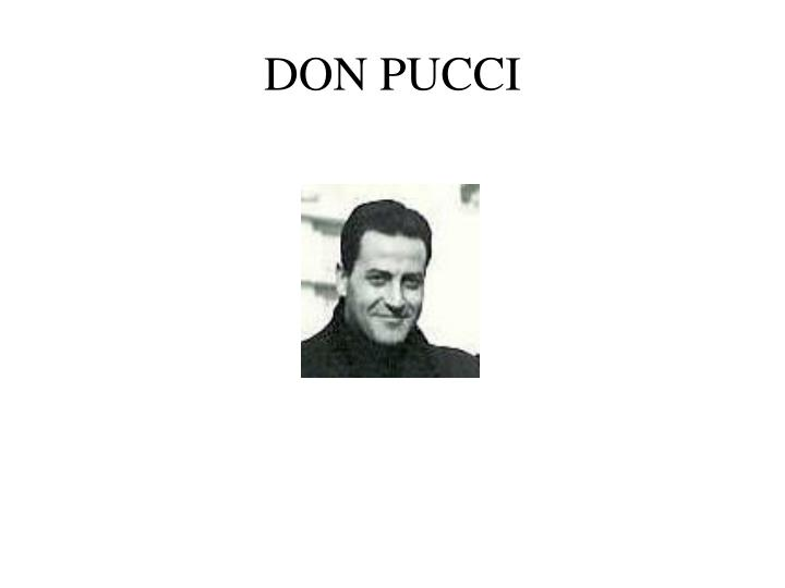 DON PUCCI