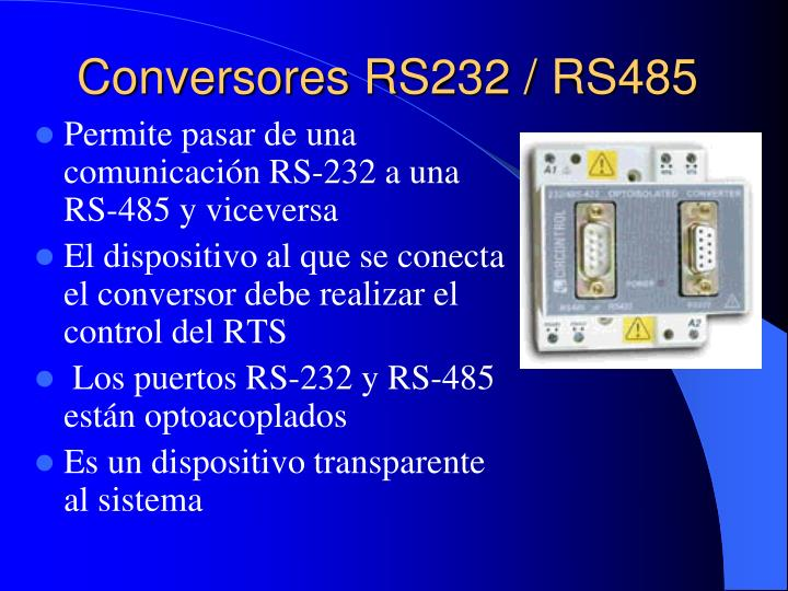 Conversores RS232 / RS485