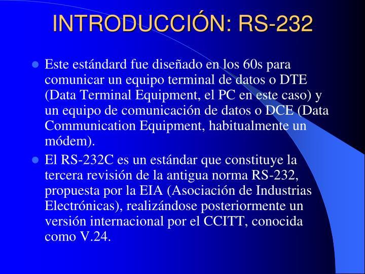 Introducci n rs 232