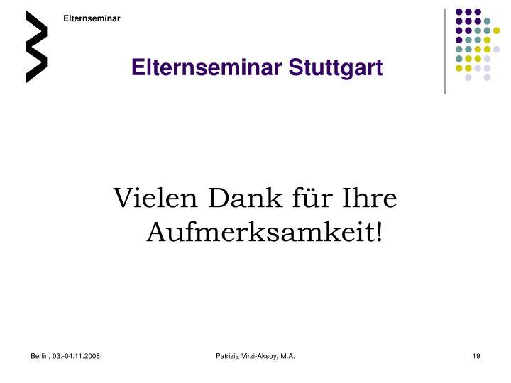 Elternseminar Stuttgart