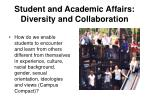 student and academic affairs diversity and collaboration3