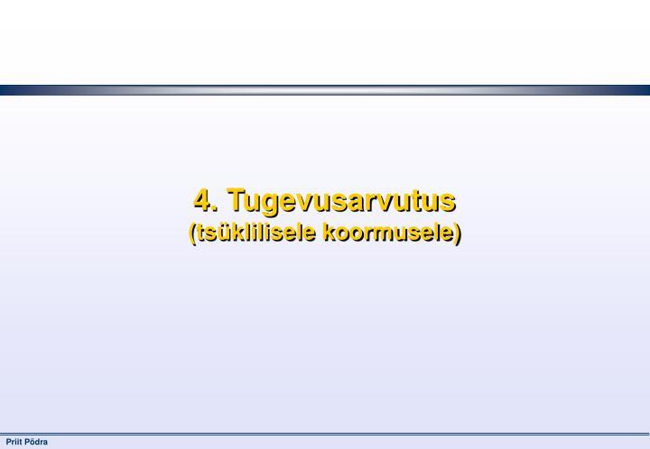 4. Tugevusarvutus