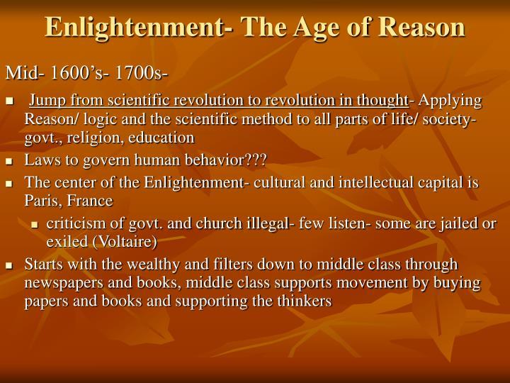 scientific revolution 1500 s 1600 s