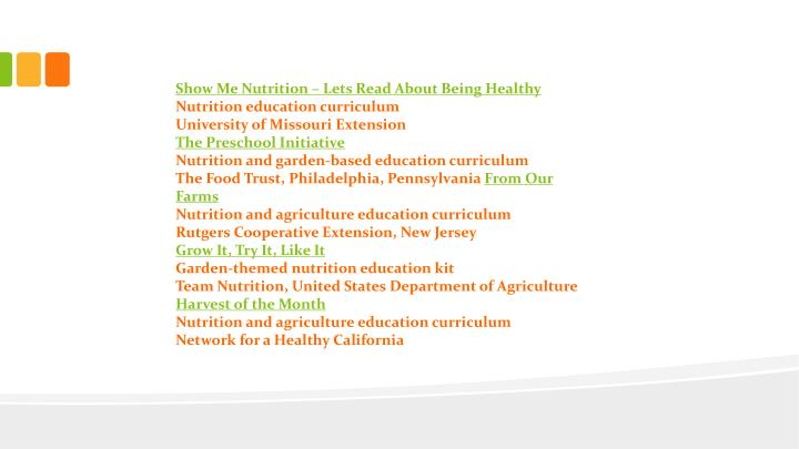 Show Me Nutrition – Lets Read About Being Healthy