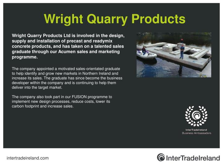 Wright Quarry Products