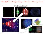 h ot qcd and high energy collisions of heavy nuclei