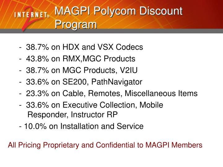 MAGPI Polycom Discount Program