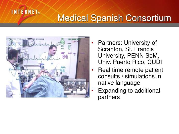 Medical Spanish Consortium