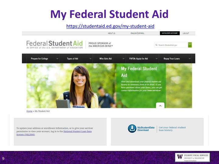 My Federal Student Aid