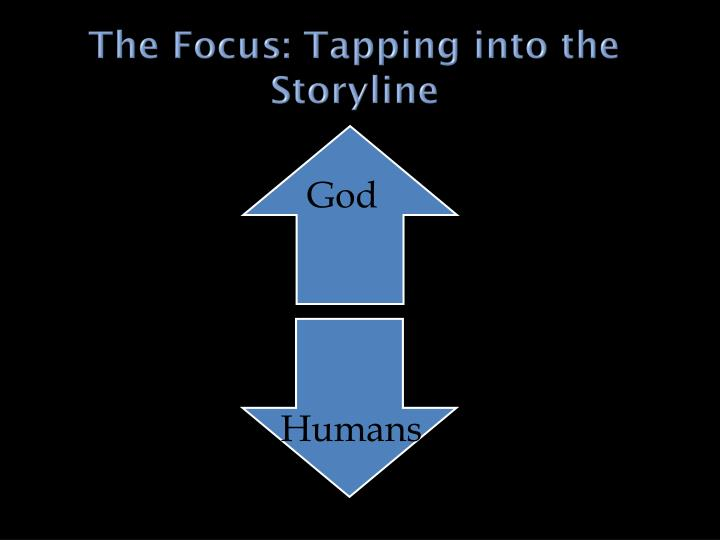 The Focus: Tapping into the Storyline