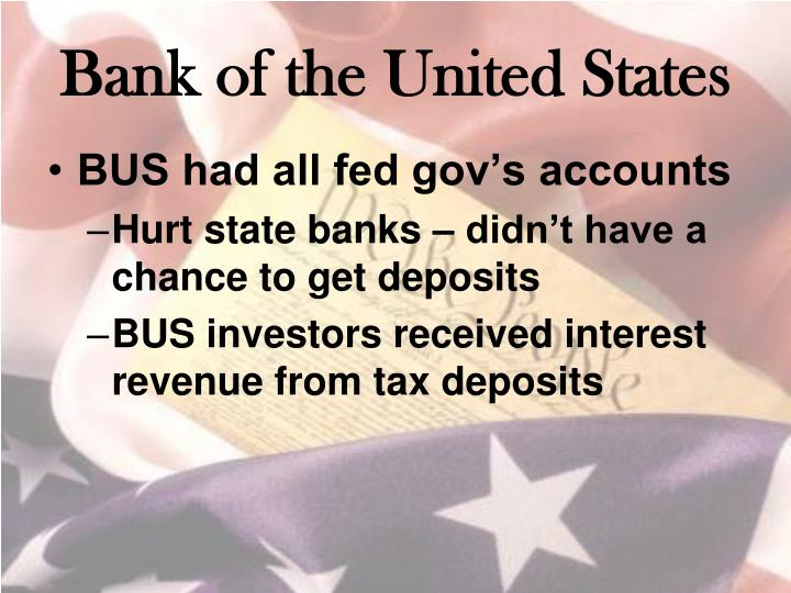 Bank of the United States