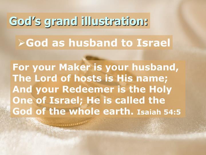 God's grand illustration: