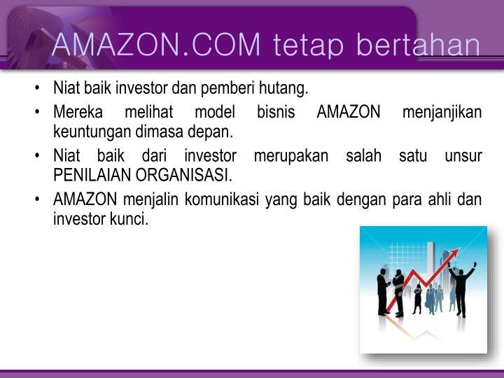 AMAZON.COM tetap bertahan