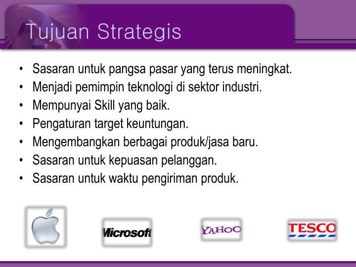 Tujuan Strategis