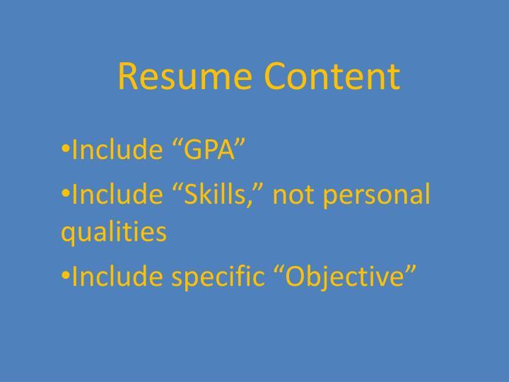 PPT - Common Errors: Resume & Cover Letter PowerPoint ...