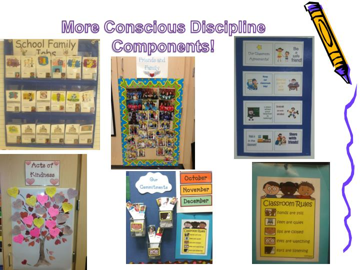 More Conscious Discipline Components!