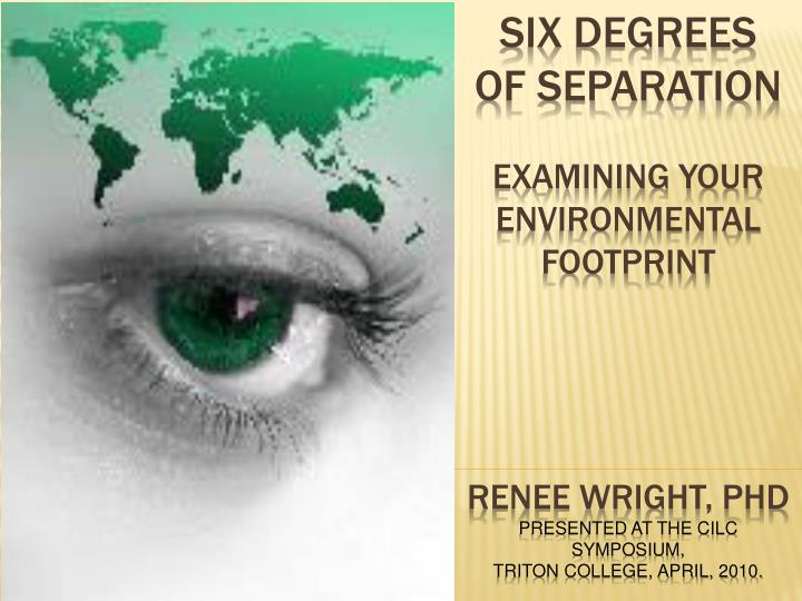 six degrees of separation final essay