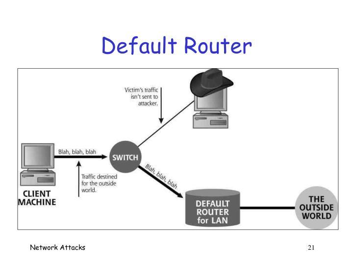 Default Router
