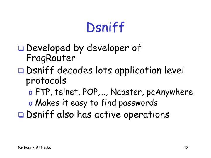 Dsniff