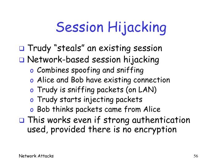 Session Hijacking