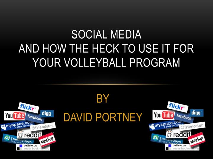 Social media and how the heck to use it for your volleyball program