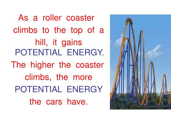 As  a  roller  coaster