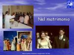 nel matrimonio
