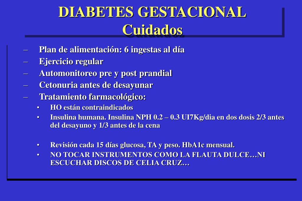 terapia con insulina para la presentación de diabetes ppt