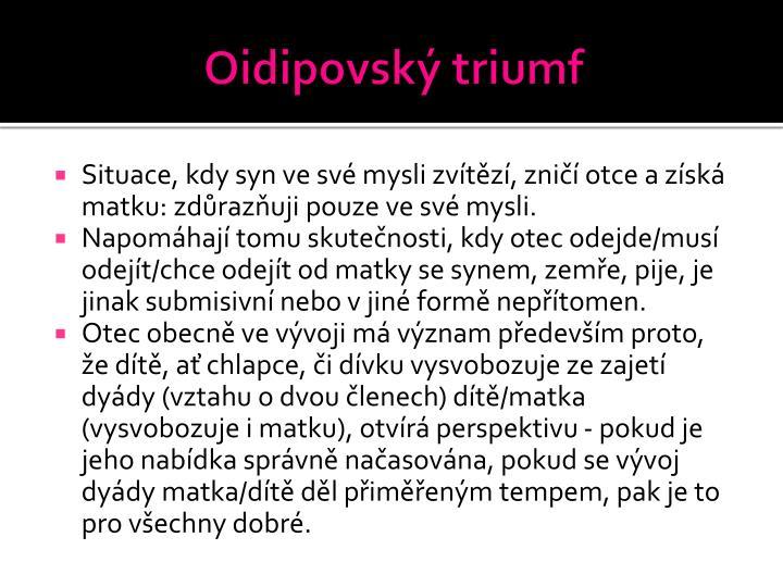 Oidipovský triumf