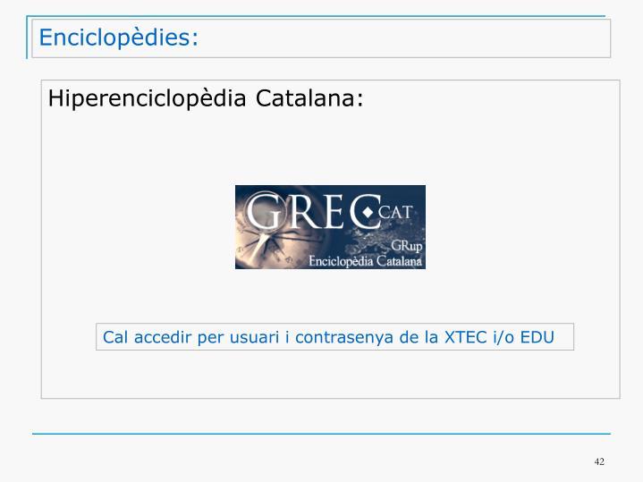 Enciclopèdies: