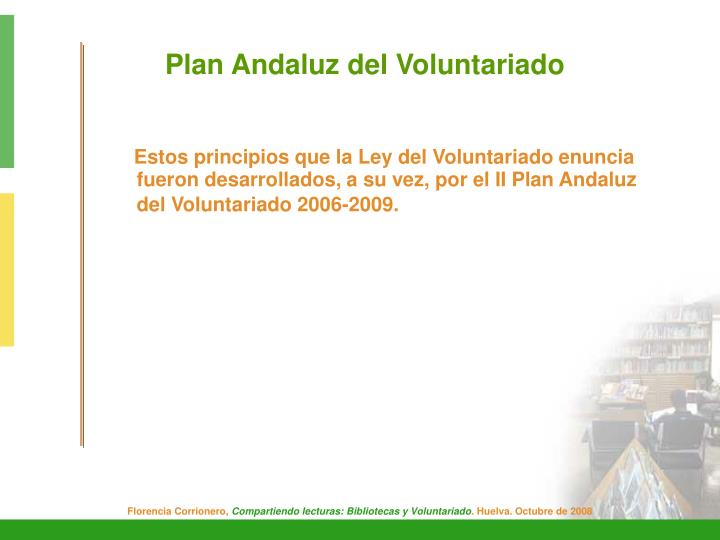 Plan Andaluz del Voluntariado