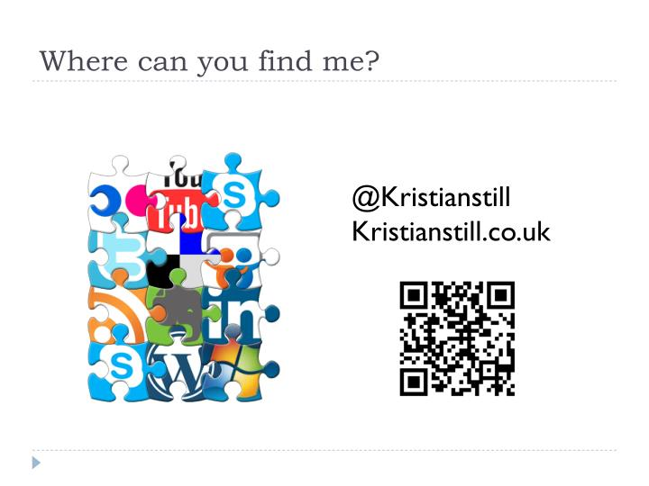 Where can you find me?