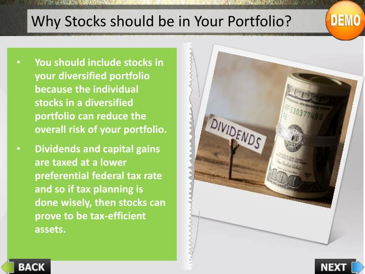 Why Stocks should be in Your Portfolio?