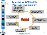 le projet de gruissan pourquoi et comment