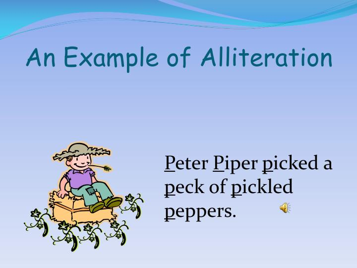 PPT - Alliteration Onomatopoeia PowerPoint Presentation ...
