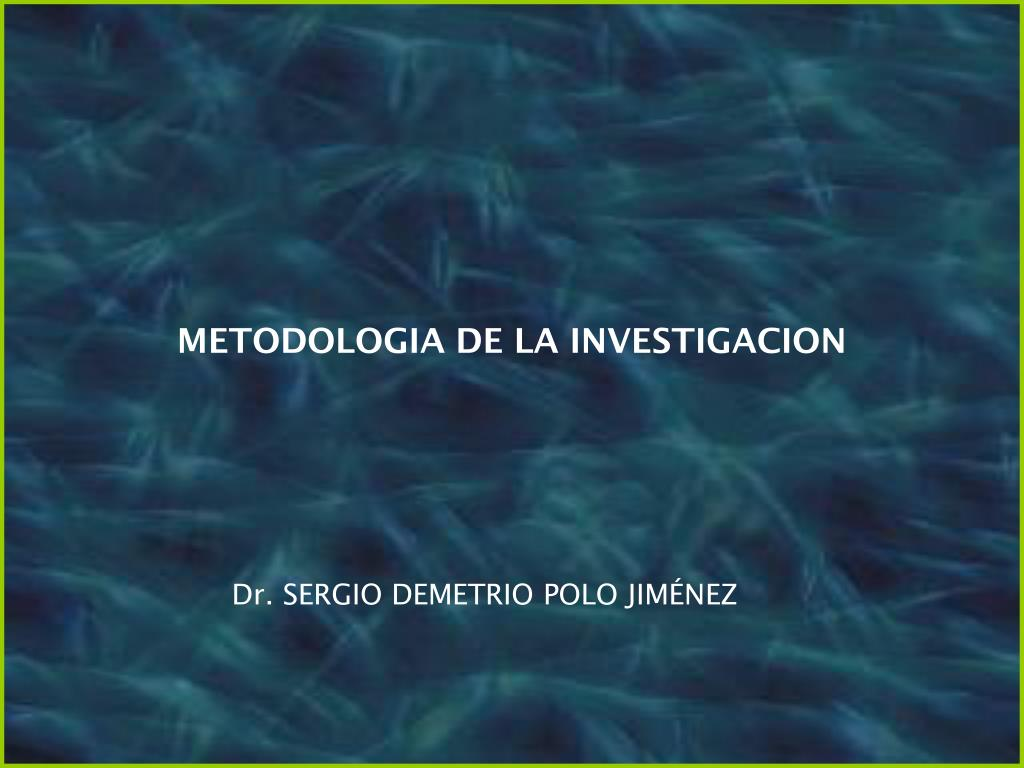 Metodologia-de-la-investigacion |authorstream.