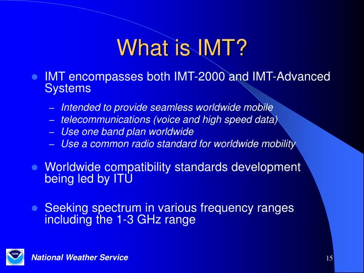 What is IMT?