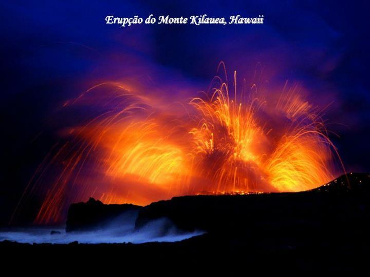 Erupção do Monte Kilauea, Hawaii