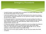 emergency procedures2