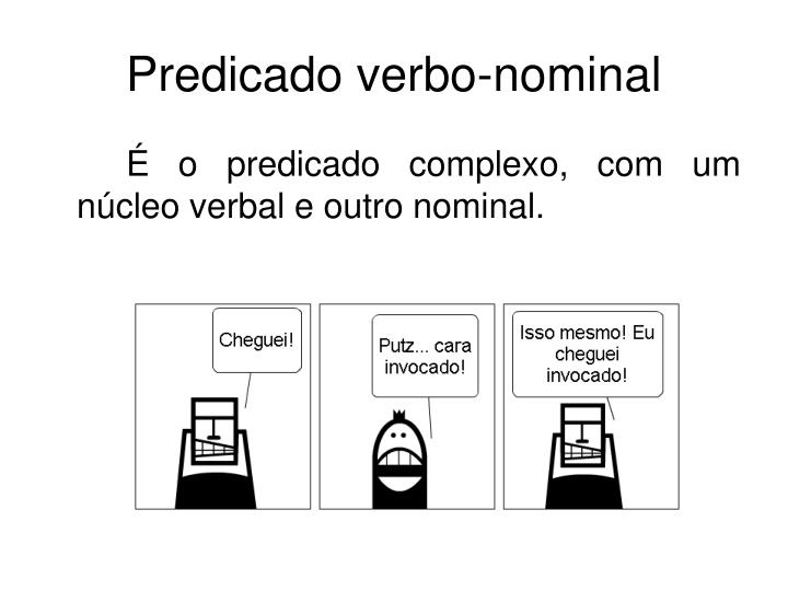 Predicado verbo-nominal