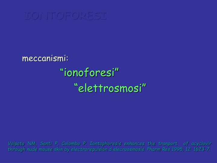 IONTOFORESI