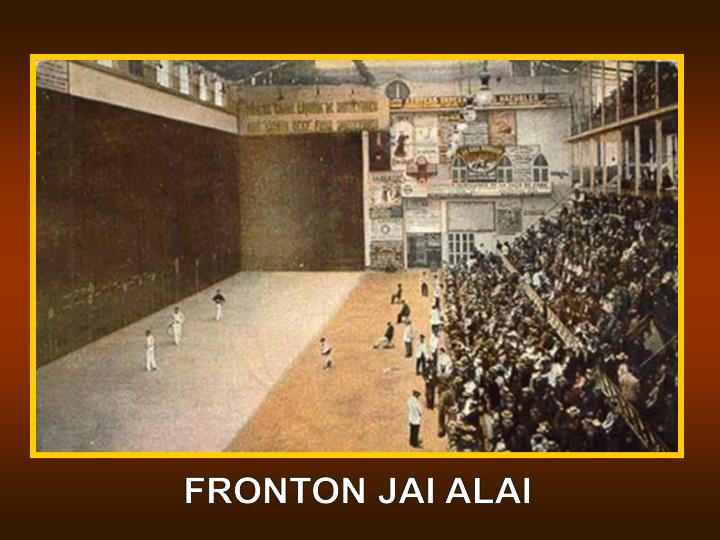 FRONTON JAI ALAI