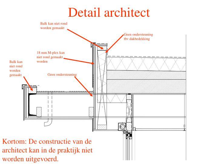 Detail architect