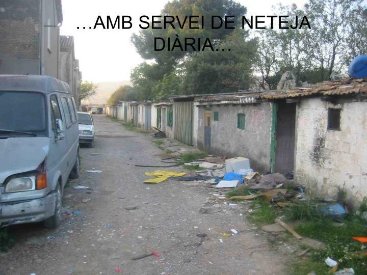 …AMB SERVEI DE NETEJA DI
