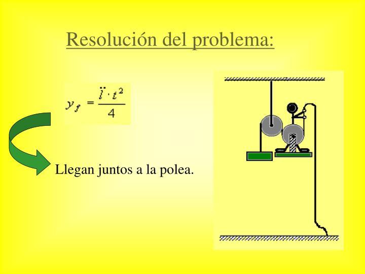 Resolución del problema: