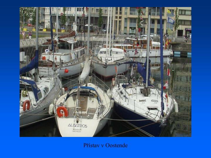 Přístav v Oostende