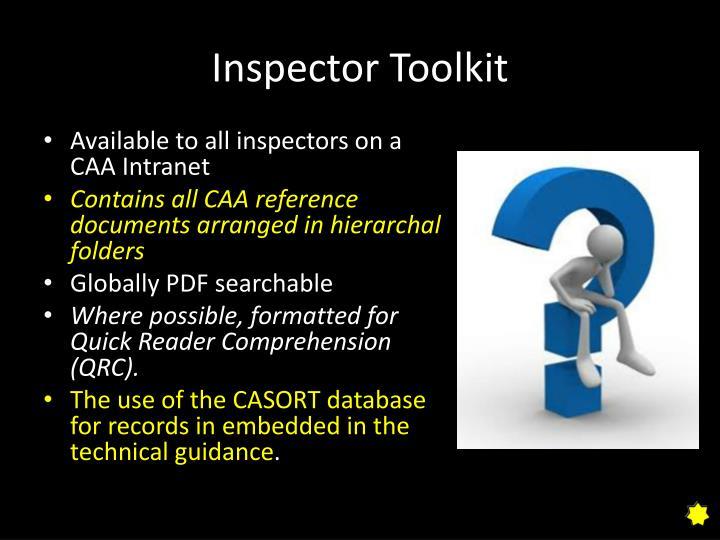 Inspector Toolkit