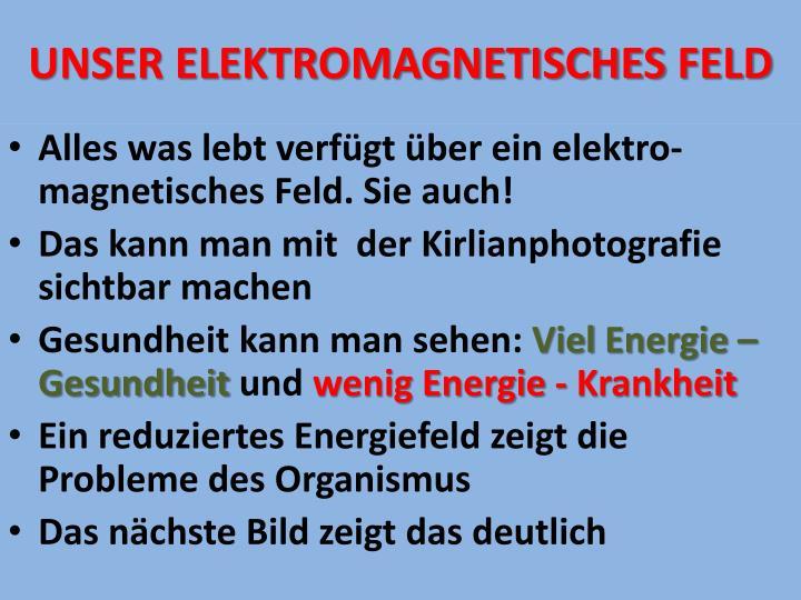 UNSER ELEKTROMAGNETISCHEs