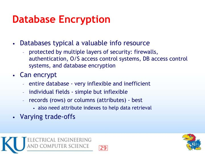 Database Encryption